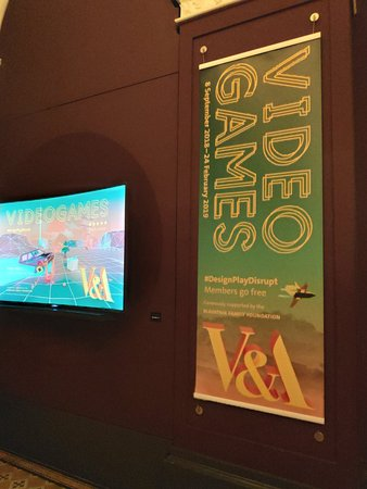 Video games, Nice exhibition at the V&A museum now...