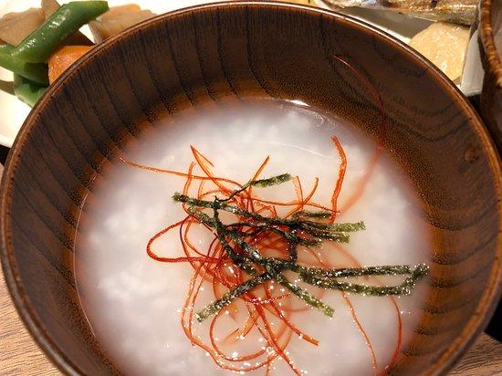 朝食ビュッフェ(白がゆ)