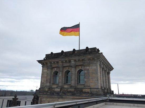 Reichstagsgebäude: Башенка на крыше