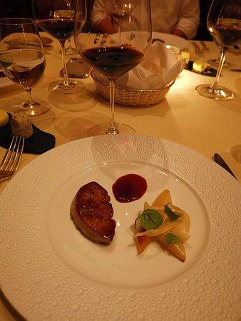 Island Shangri-La Hong Kong: Foie Gras.