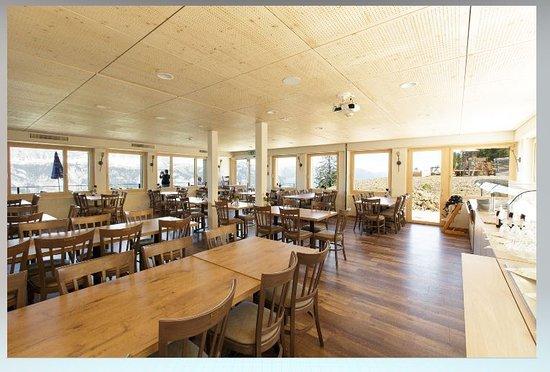 Flums, Switzerland: Restaurant/ Saal