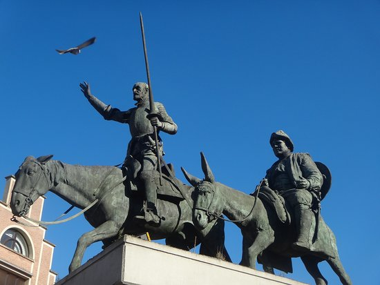 Monument of Don Quixote and Sancho Panza