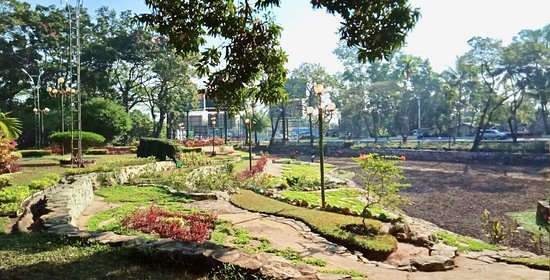 Royal Lake Amusement Park of Pathein Ayeyarwady Regional