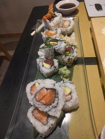 Roll misto proposto nel menu del giorno