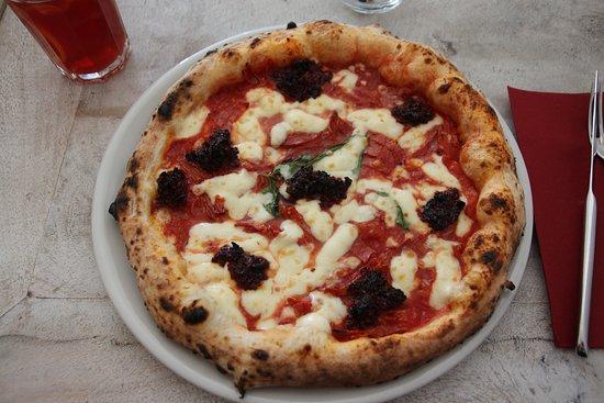 pizza calabraise