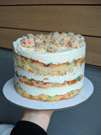 Enjoyable 6Inch Birthday Cake Picture Of Milk Bar Midtown New York City Funny Birthday Cards Online Elaedamsfinfo