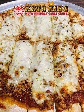 Mahtomedi, MN: Keto King - Sausage Pizza