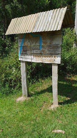 Insegna della riserva Teyu Cuare