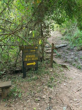 Indicazione per il sentiero