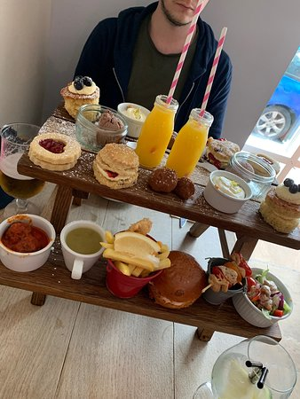 The Fox Bar & Bistro: One of the best afternoon teas around!