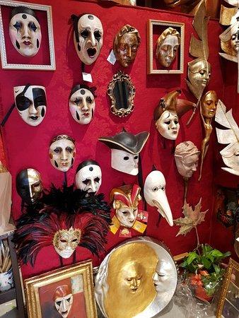 Las máscaras más bonitas de Venecia
