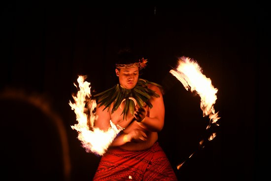 All You Can Eat BBQ Dinner and Show at Tropical Isle with Sightseeing Cruise: show in the island