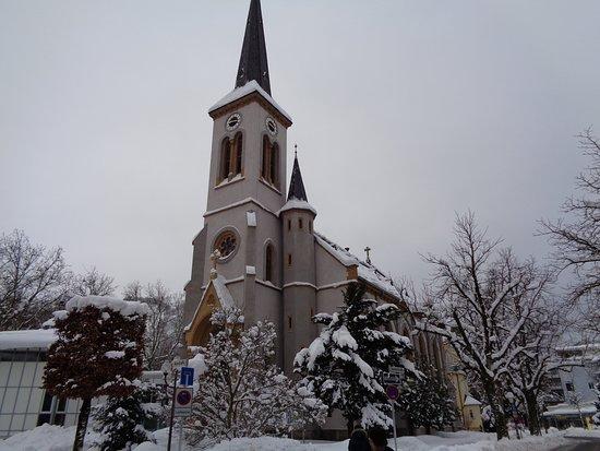 Evangelische Lutherische Stadtkirche in Bad Reichenhall.