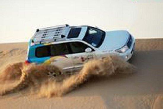 Dubai Desert 4x4 Dune Bashing...
