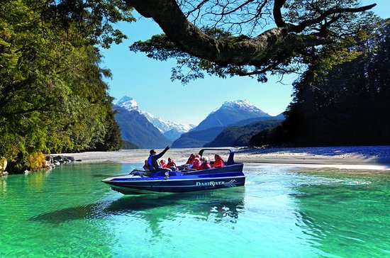 Passeio de jetboat e Wilderness Jet...