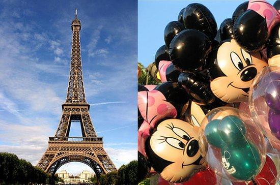 从巴黎到迪士尼乐园的私人接送服务