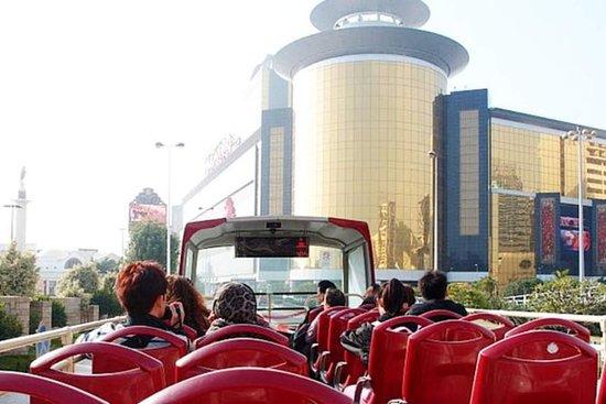 マカオのオープンタイプバス1日乗車券