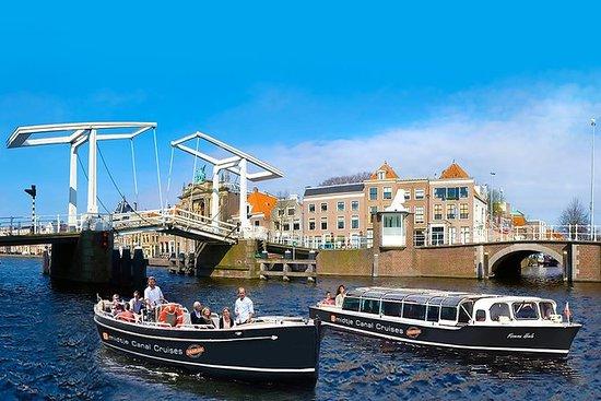 Haarlem: Hop-on-Hop-off-Bootsfahrt