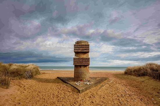 Sites canadenses do Dia D Juno Beach...