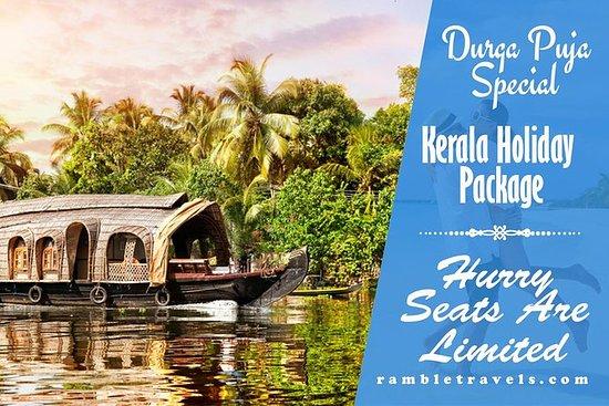 Pacotes de turismo linda Kerala 9 dias