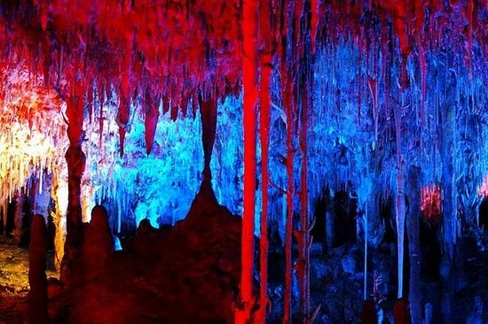 Excursión de medio día a las cuevas...
