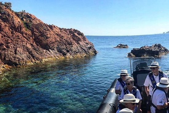 Discover the Calanques of the Esterel...