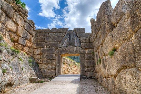 Mykene, Epidaurus, Nafplio hele dagen...