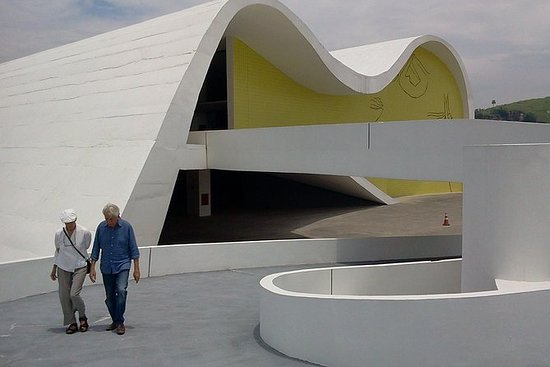 La tournée privée Oscar Niemeyer Way...