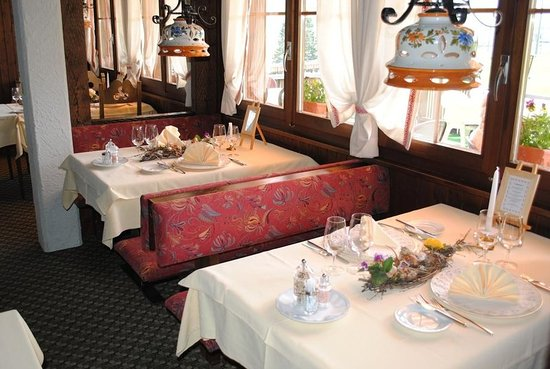 Frutigen, Switzerland: Restaurant