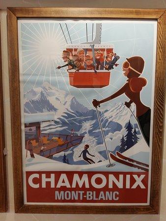 Novoabzakovo, Russia: Плакаты в ресторане