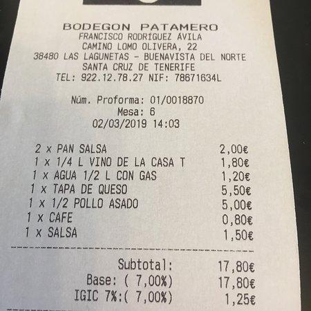 Bodegón Patamero Foto