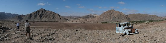 Rosh Pinah, Namibia: Taken at an old diamond mine next to the Orange River.
