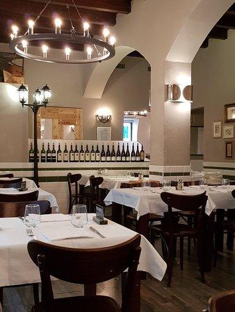 Ristorante Trattoria Galleria: Sehr gemütlich, sauber und warm eingerichtet