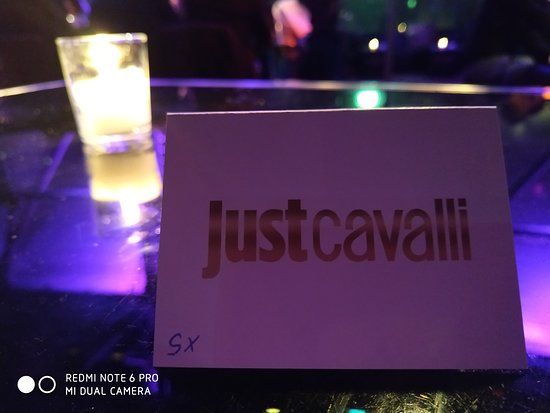 buy popular 36208 f56fa marchio - Foto di Just Cavalli Milano - Restaurant - TripAdvisor