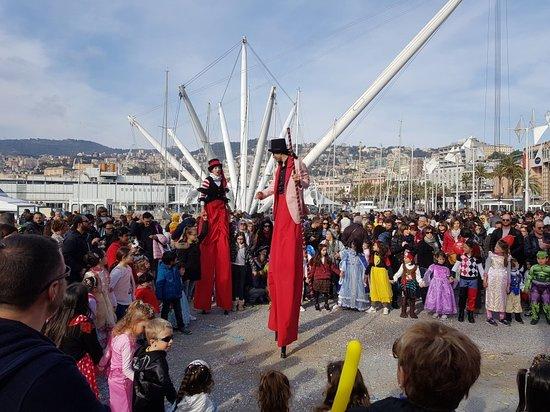 Carnevale al Porto antico.  Genova