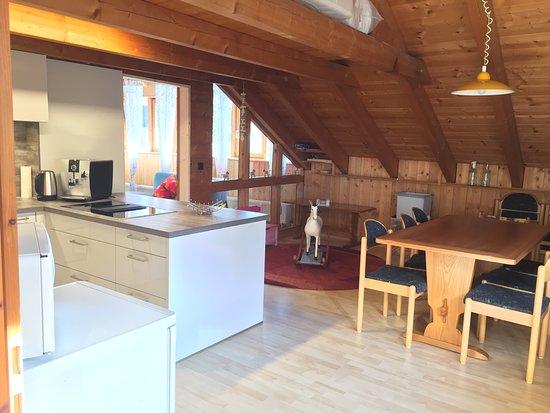 Wutach, ألمانيا: Ferienwohnung Holzhaus Wutach-Münchingen