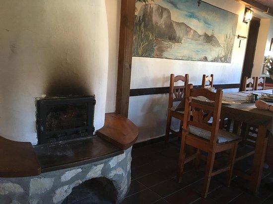 Balatongyorok, Hungary: Im Restaurant