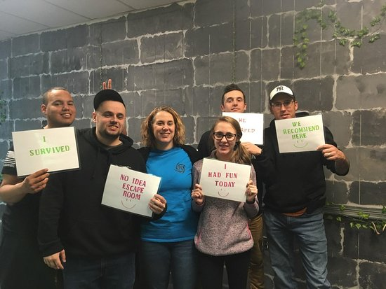 No Idea Escape Room