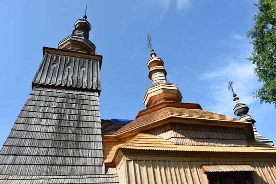 The wooden greek-catholic church of St. Michael the Archangel