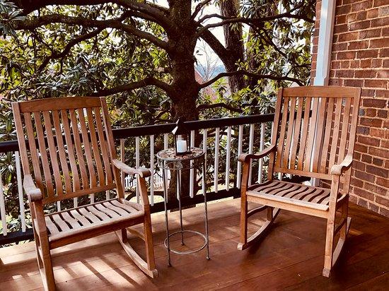 Balcony - Picture of The Zevely Inn, Winston Salem - Tripadvisor
