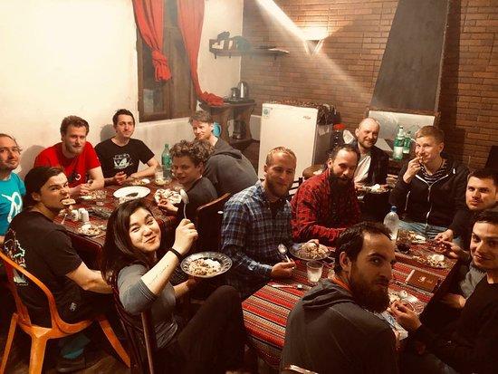 Dizin, Iran: Joyja hostel