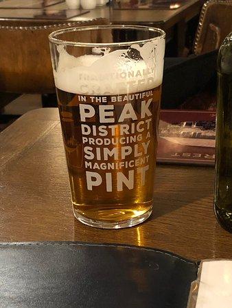 Real pub grub and beer
