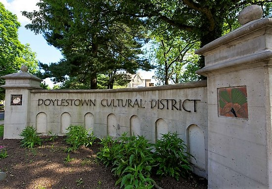 Doylestown, PA: Bike along the streets traveled by residents that influenced local and international history.