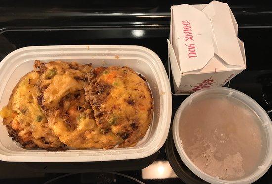 10-20-18 Egg Foo Young gravy - Picture of China Dragon, Atlanta - Tripadvisor