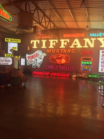 A great collection of signs and artifacts.