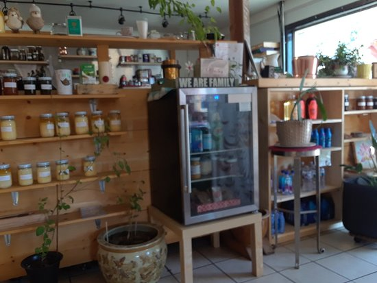 Frazier Park, קליפורניה: The Red Dot Vegetarian Kitchen