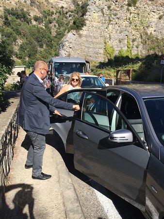 Amalfi Coast Day Trip from Sorrento: Positano, Amalfi, and Ravello: Gabrielle, our professional Mondo Guide, and Donna
