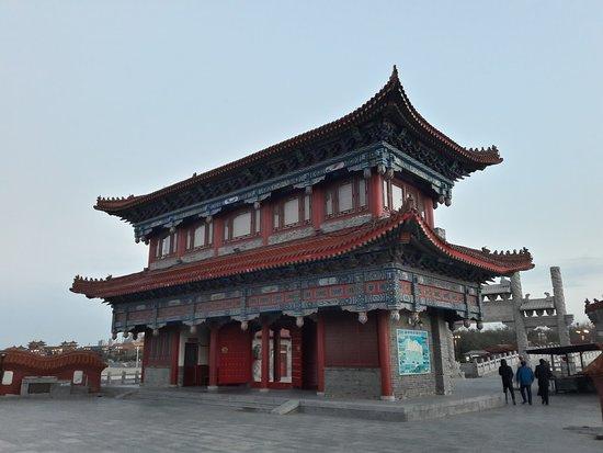 Jinan, China: Bixia Yuanjun Temple near Penglai