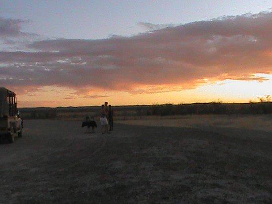 Swakopmund, Namibia: Etosha Mountain Lodge sundowner drive