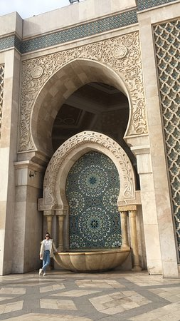 visiting Hassan mosque
